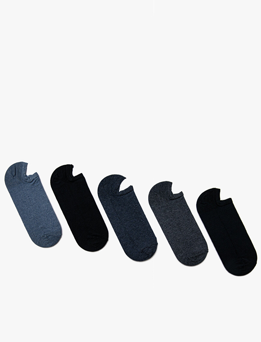 5 Pack Man Socks