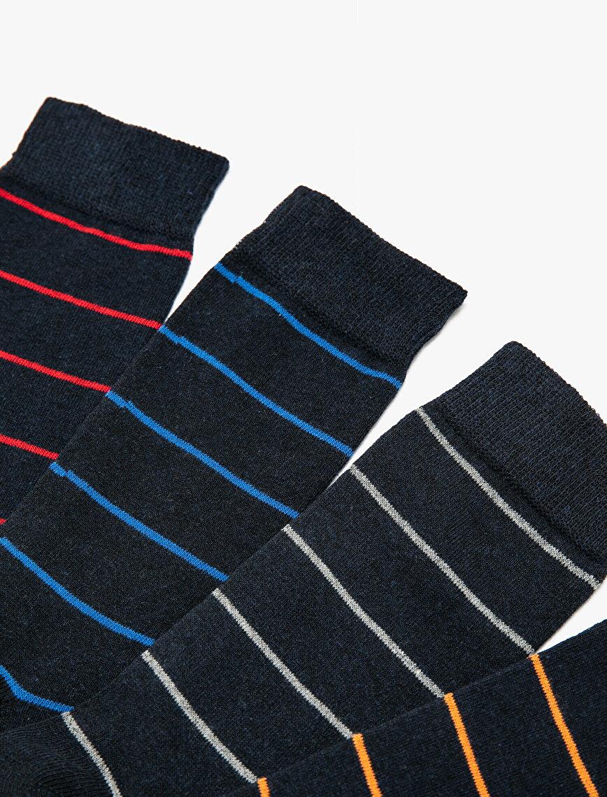 4 Pack Man Socks