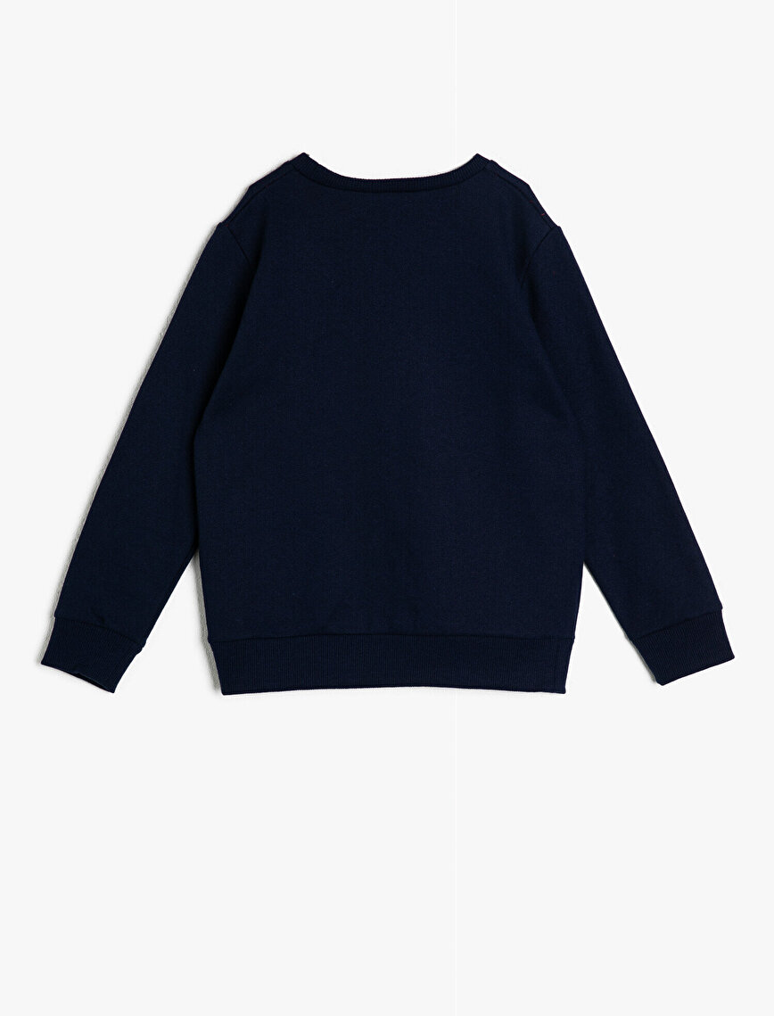 Rafadan Tayfa Lisanslı Baskılı Sweatshirt