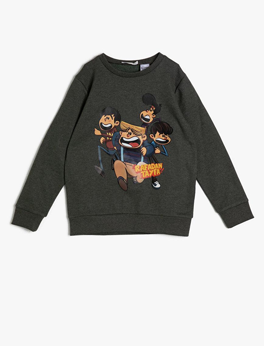 Rafadan Tayfa Licensed Printed Sweatshirt