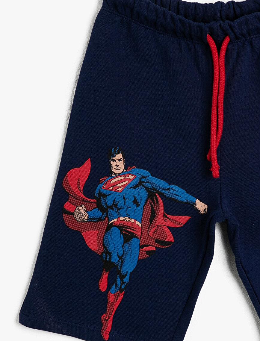 Superman Licance Printed Shorts