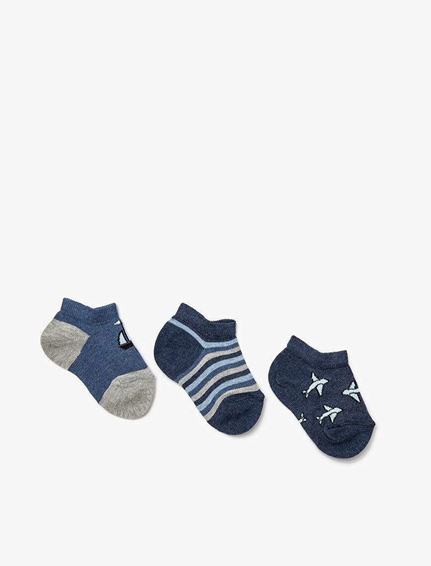 3 Pack Boys Socks