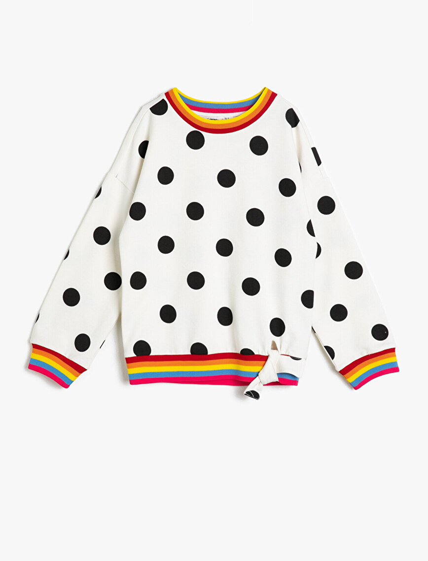 Dotted Sweatshirt