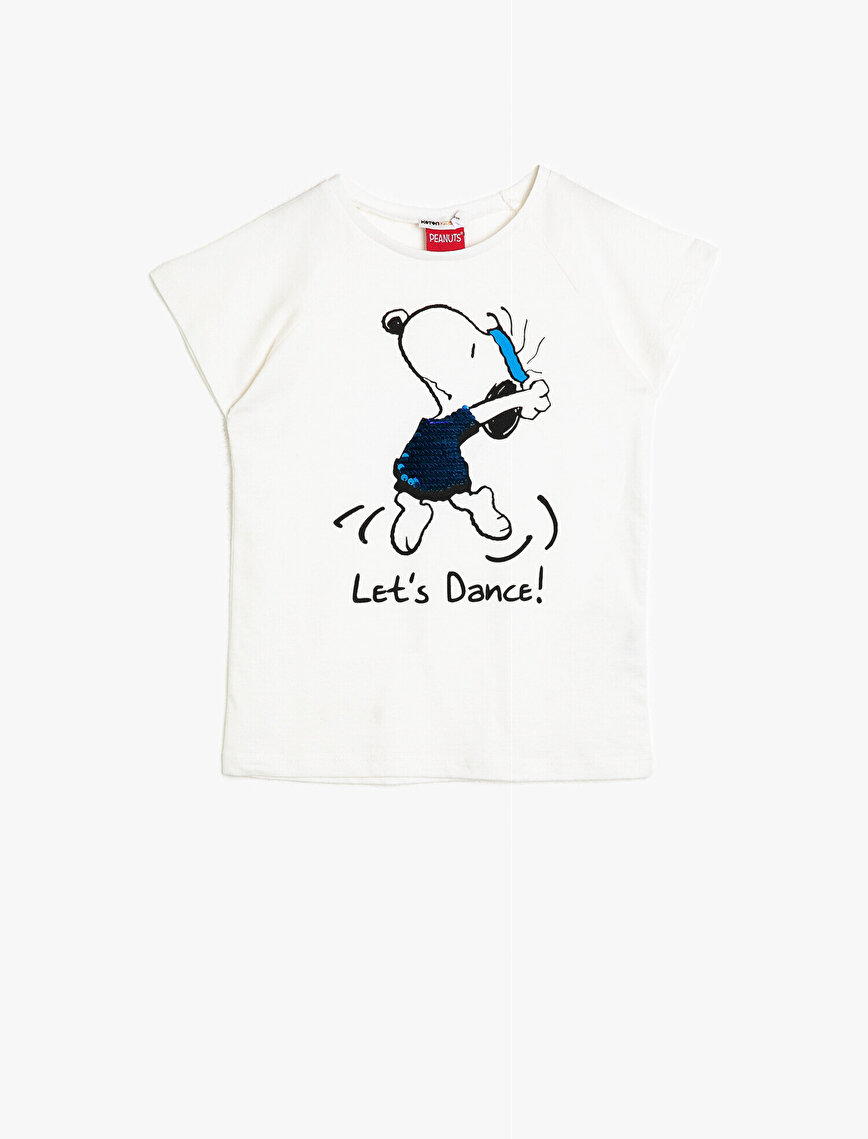 Snoopy Licensed Printed Licenced T-Shirt