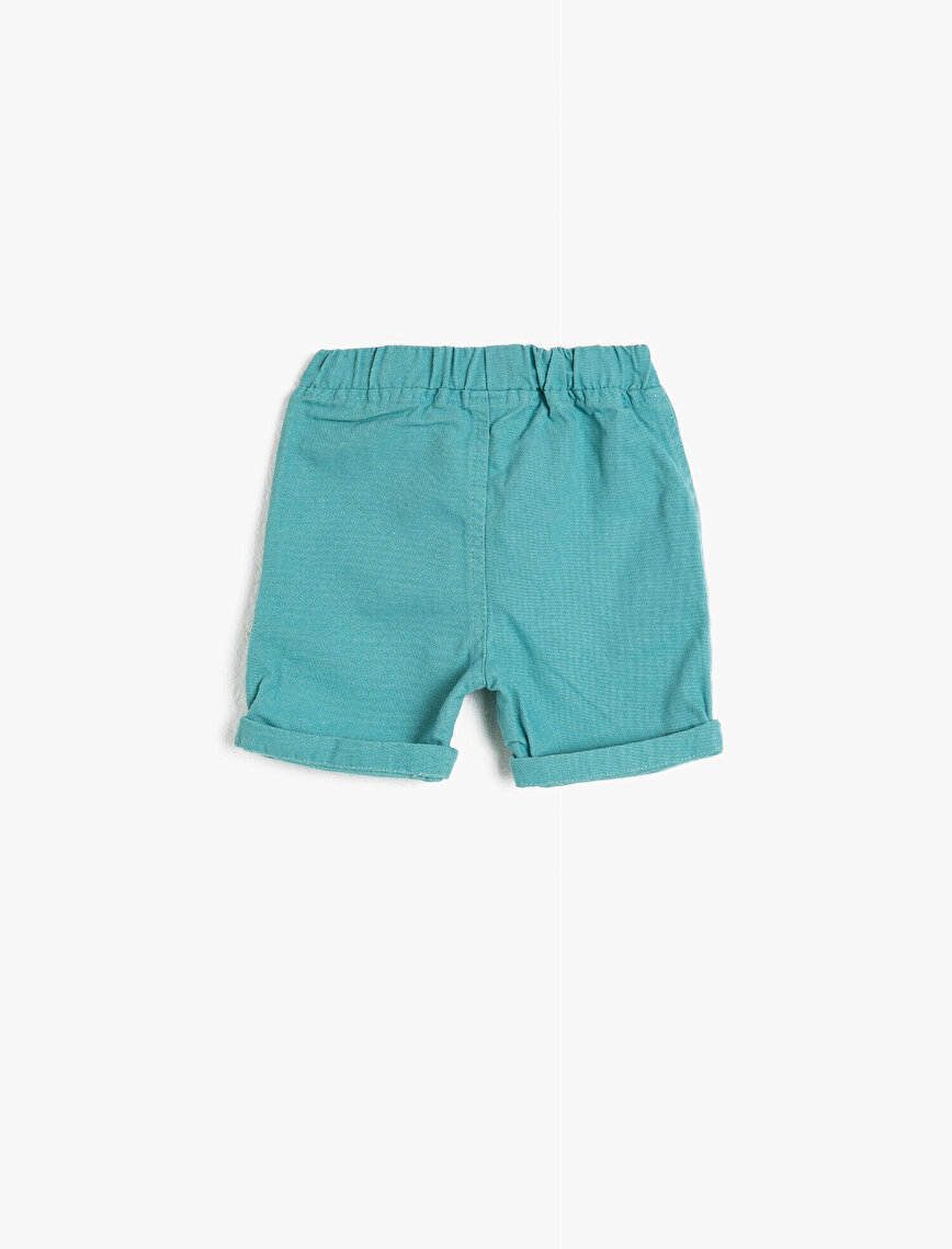 Cotton Pocketed Shorts