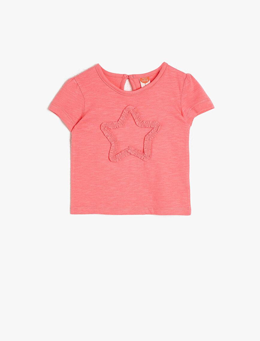 Star Figured T-Shirt