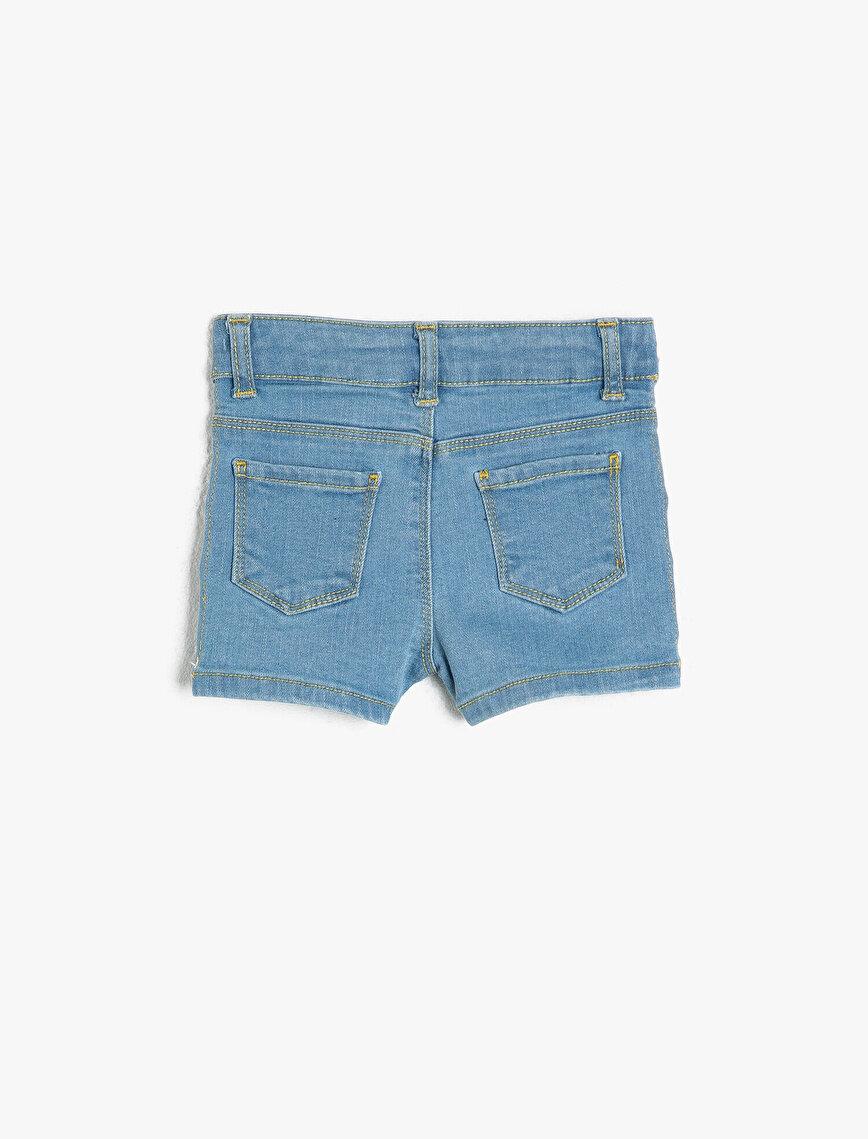 Eyeled Detailed Trousers