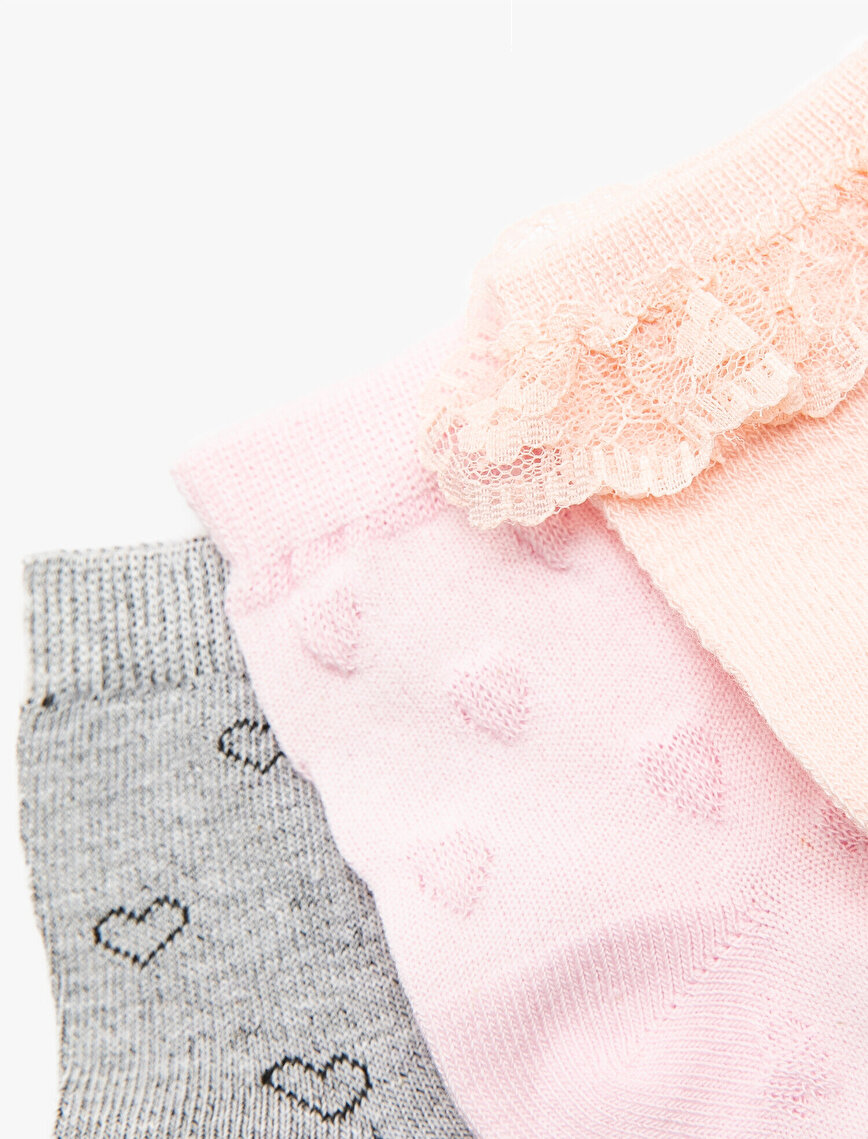 3 Pack Baby Girl Socks