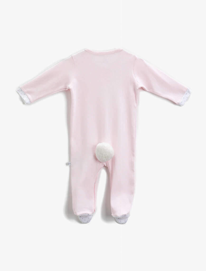 Bibaby Long Sleeve Jumpsuit Cotton