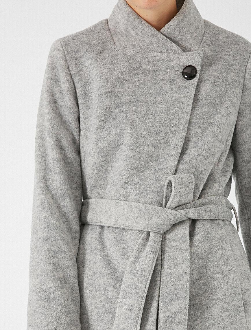 Pocket Belted Coat
