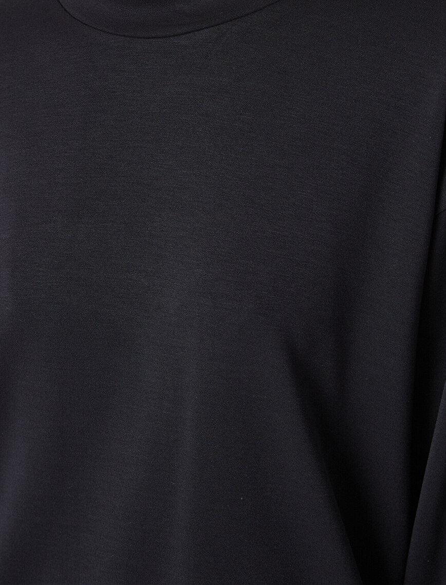 Respect Life | Yaşama Saygı - Ebru Şallı Loves Koton Crew Neck Sweatshirt