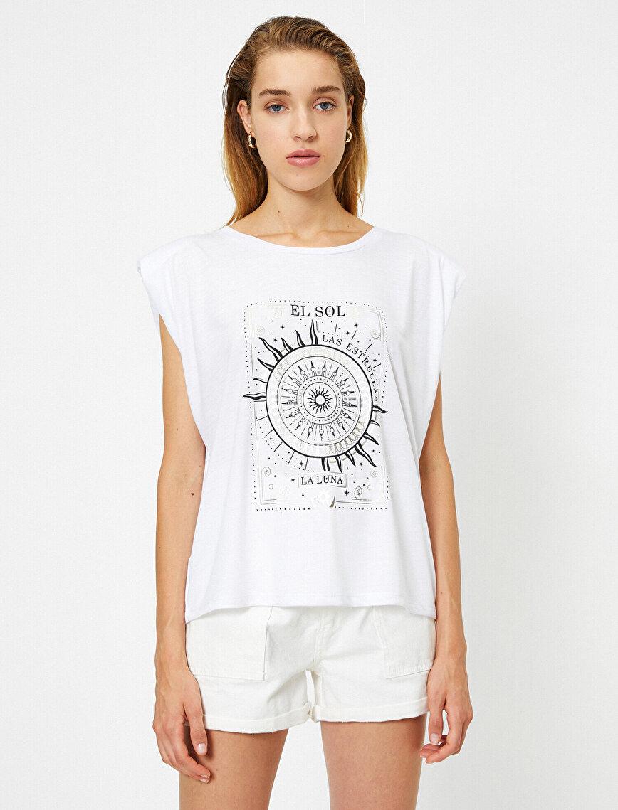 Baskılı Kısa Kollu Tişört