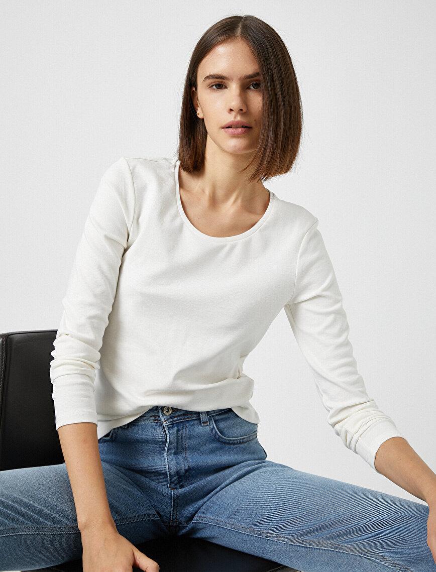 Cotton Long Sleeve T-Shirt