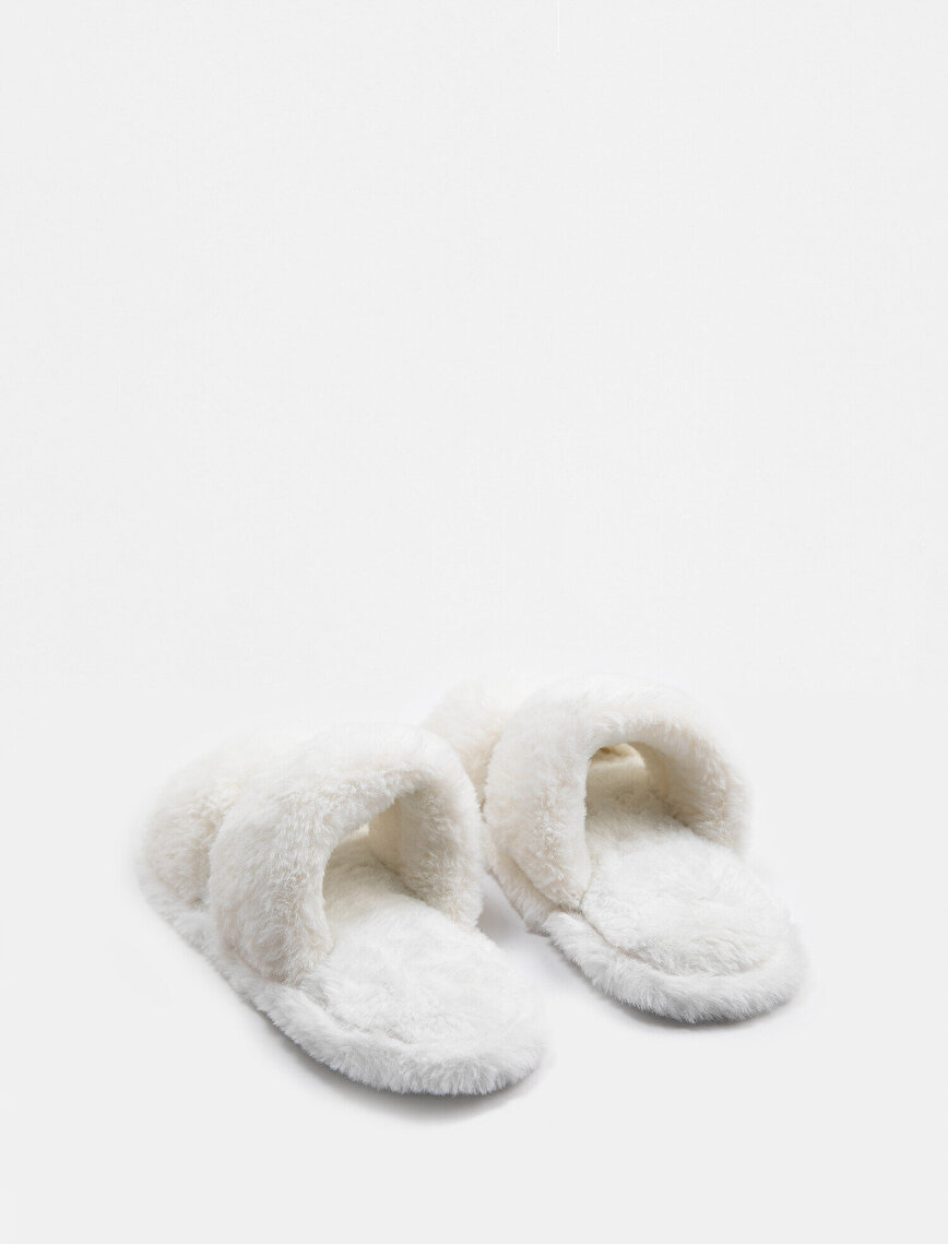 Arzu Sabancı for Koton Home Plush Home Slippers