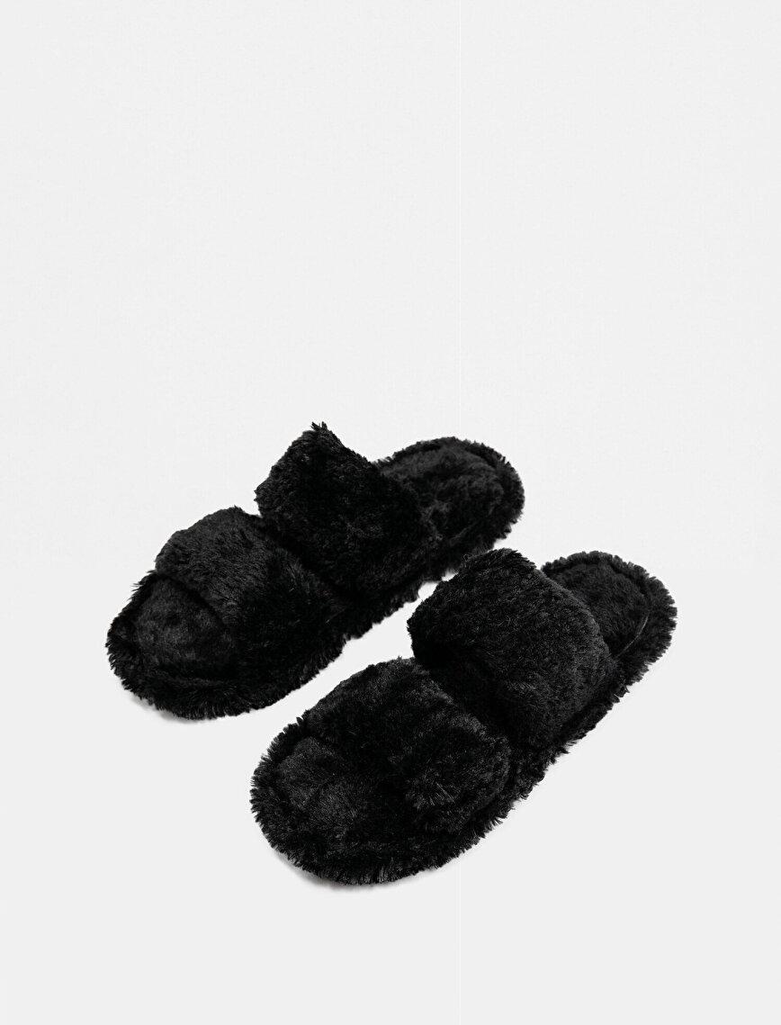 Arzu Sabancı for Koton Home Plush Home Slippers