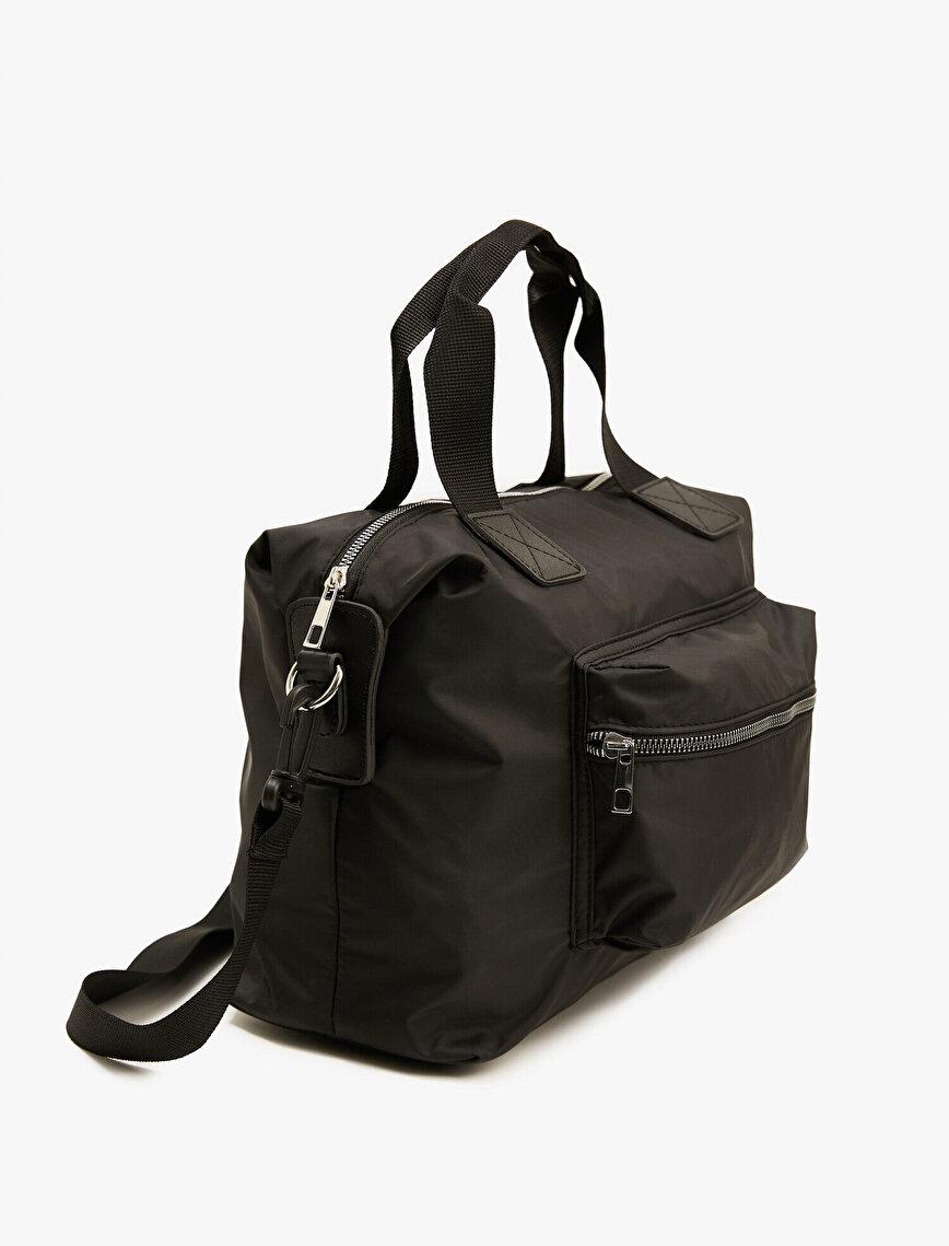Zipper Cross Shoulder Bag