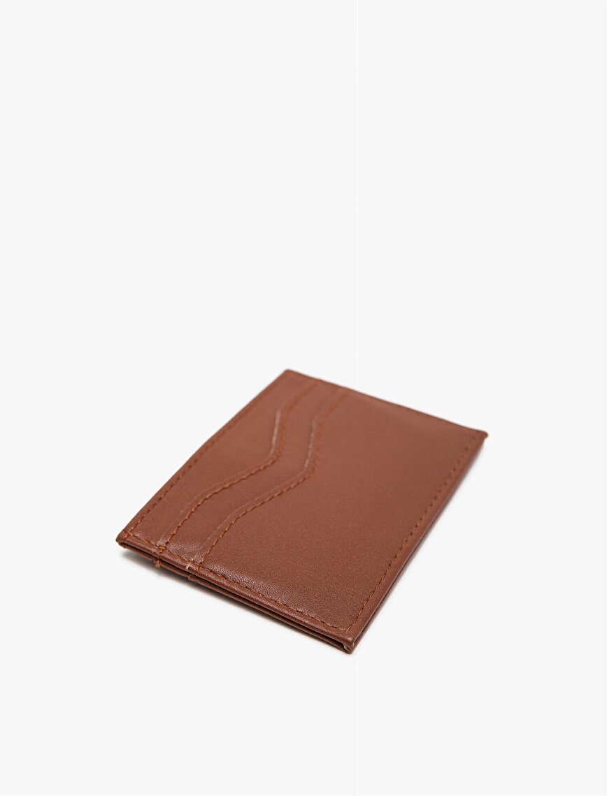 Metallic Leather Look Wallet