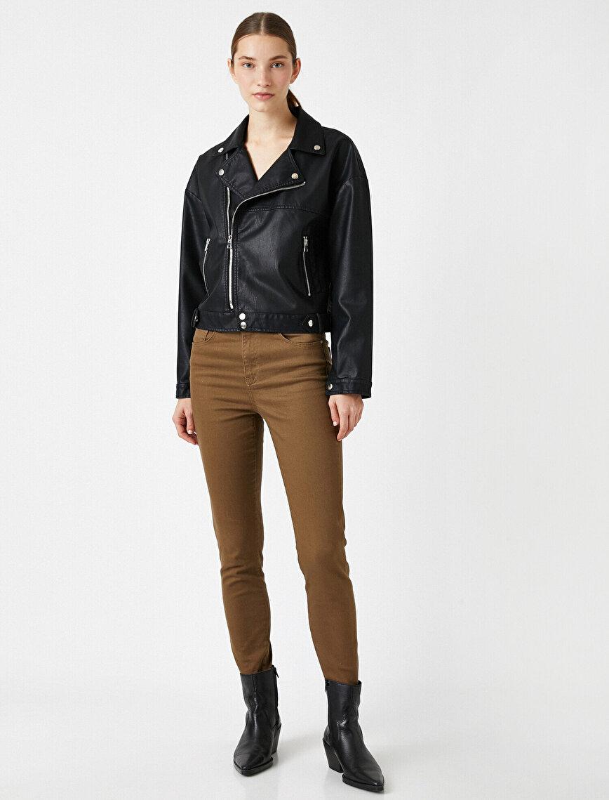 Yüksek Bel Skinny Carmen Jean
