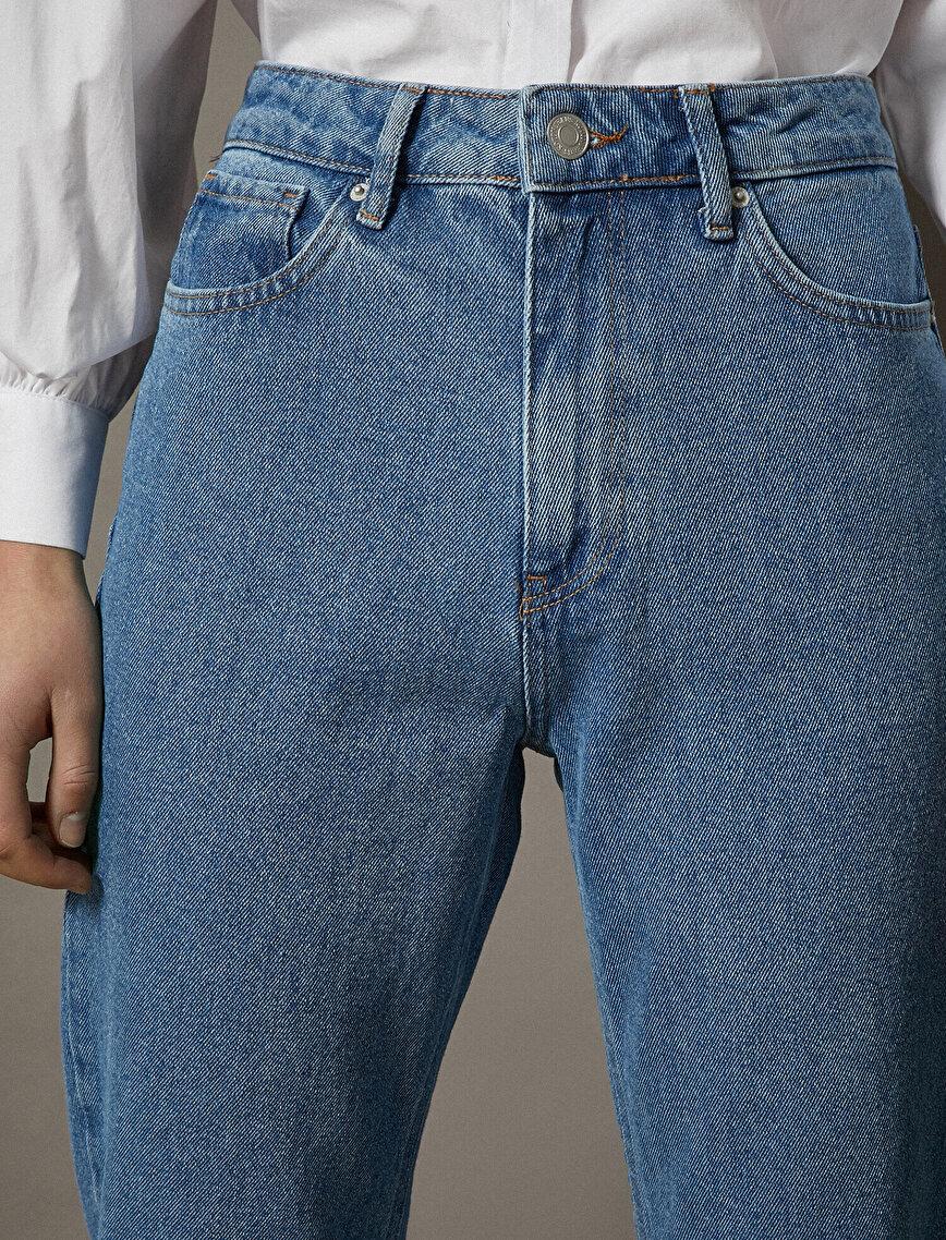 Respect Life | Yaşama Saygı - 100% Cotton Mom Jeans