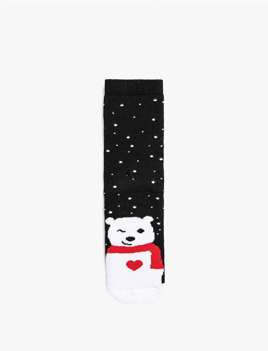Woman Cotton Patterned Socks