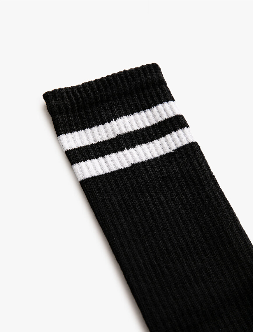 Woman Striped Socks