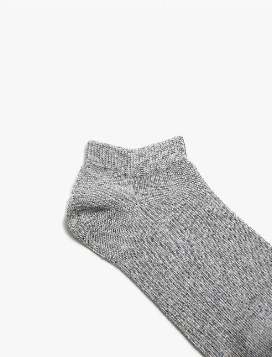 Woman 3 Pieces Basic Sock Set