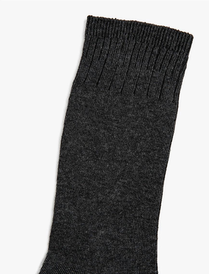 Kadın 3'lü Basic Çorap Seti
