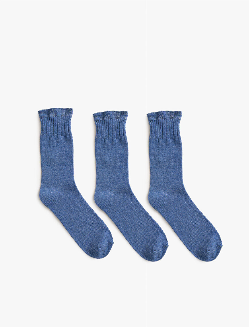 Woman 3 Pieces Basic Socks Set