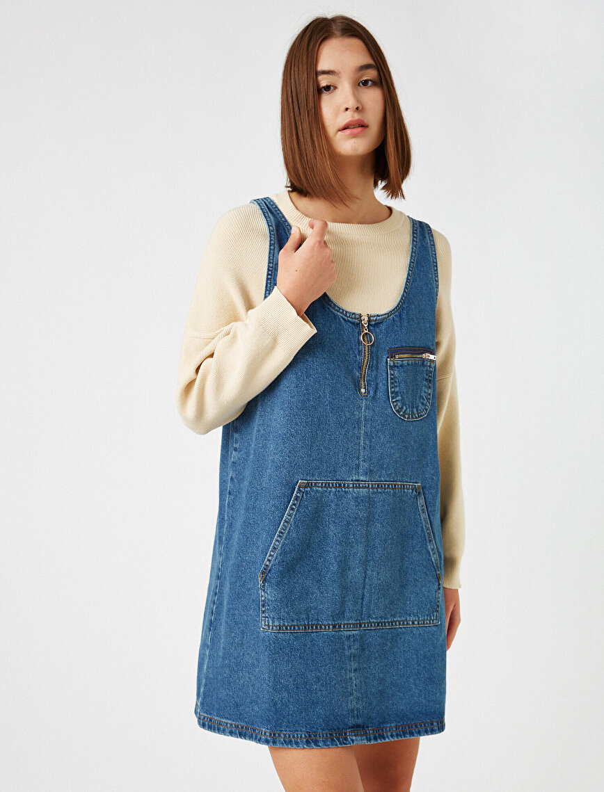 100% Cotton Jean Dress