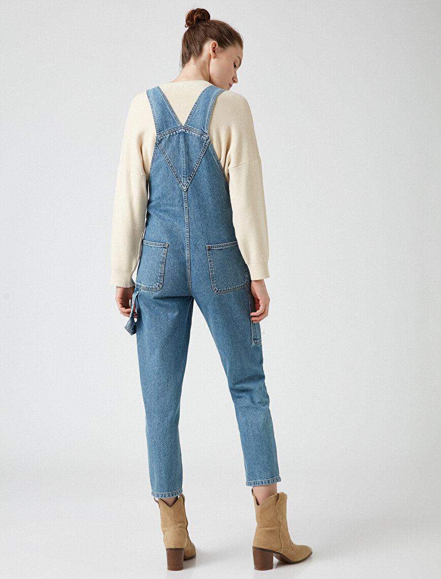 100% Cotton Jean Jumpsuit