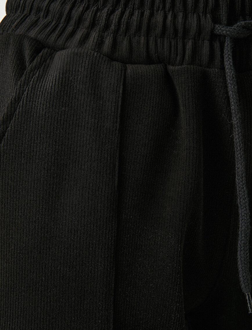 Kadife Jogger Pantolon