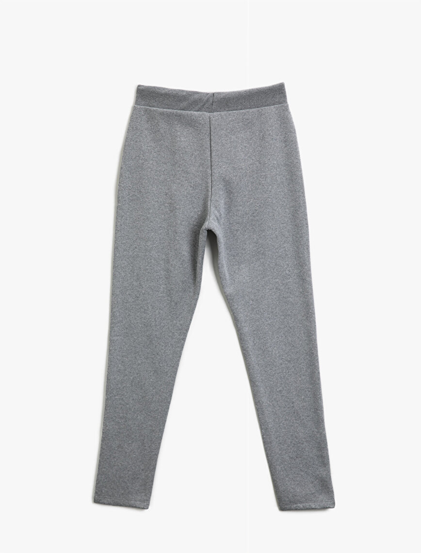 Cotton Jogger Sweat Bottom