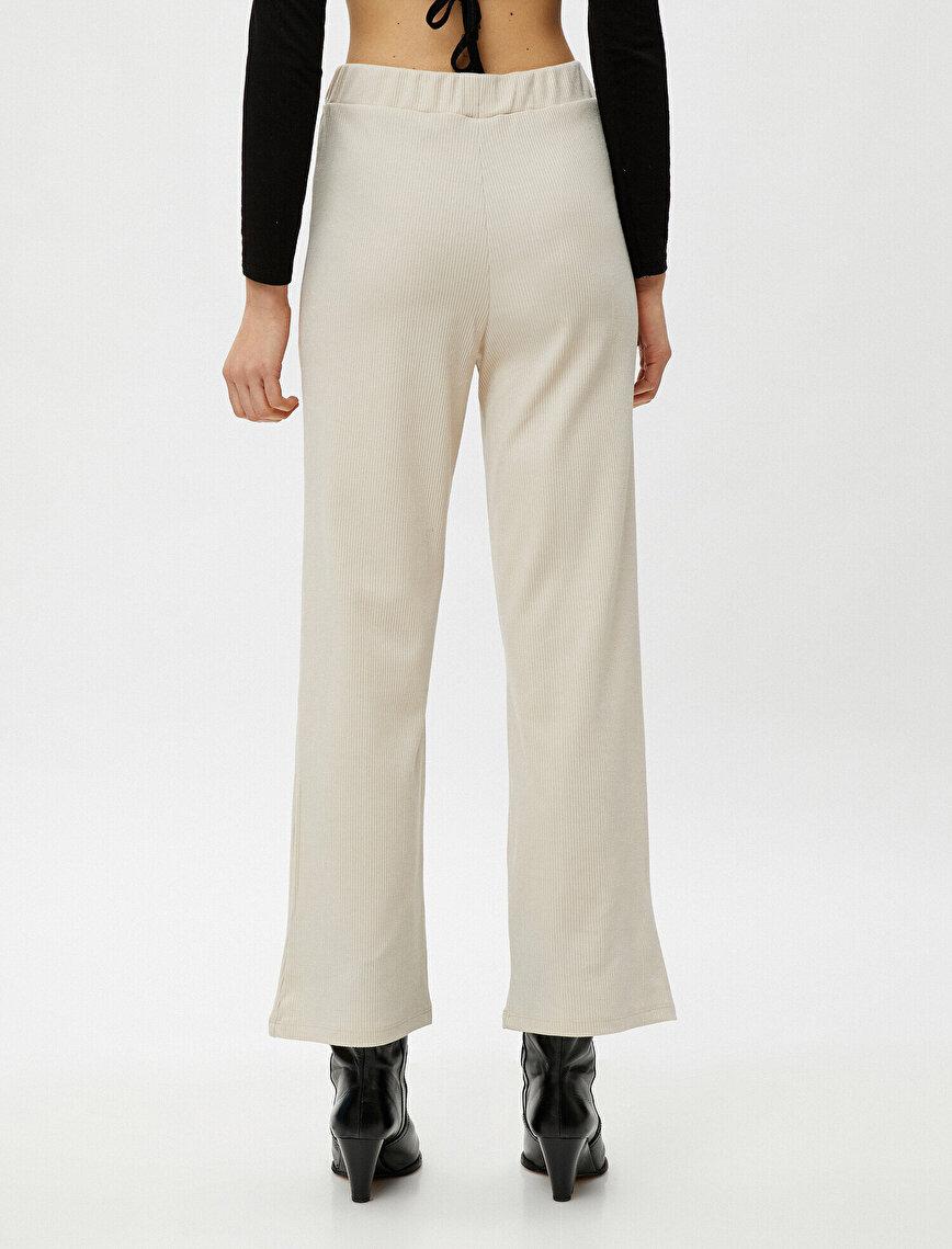 Wide Leg High Waist Trousers