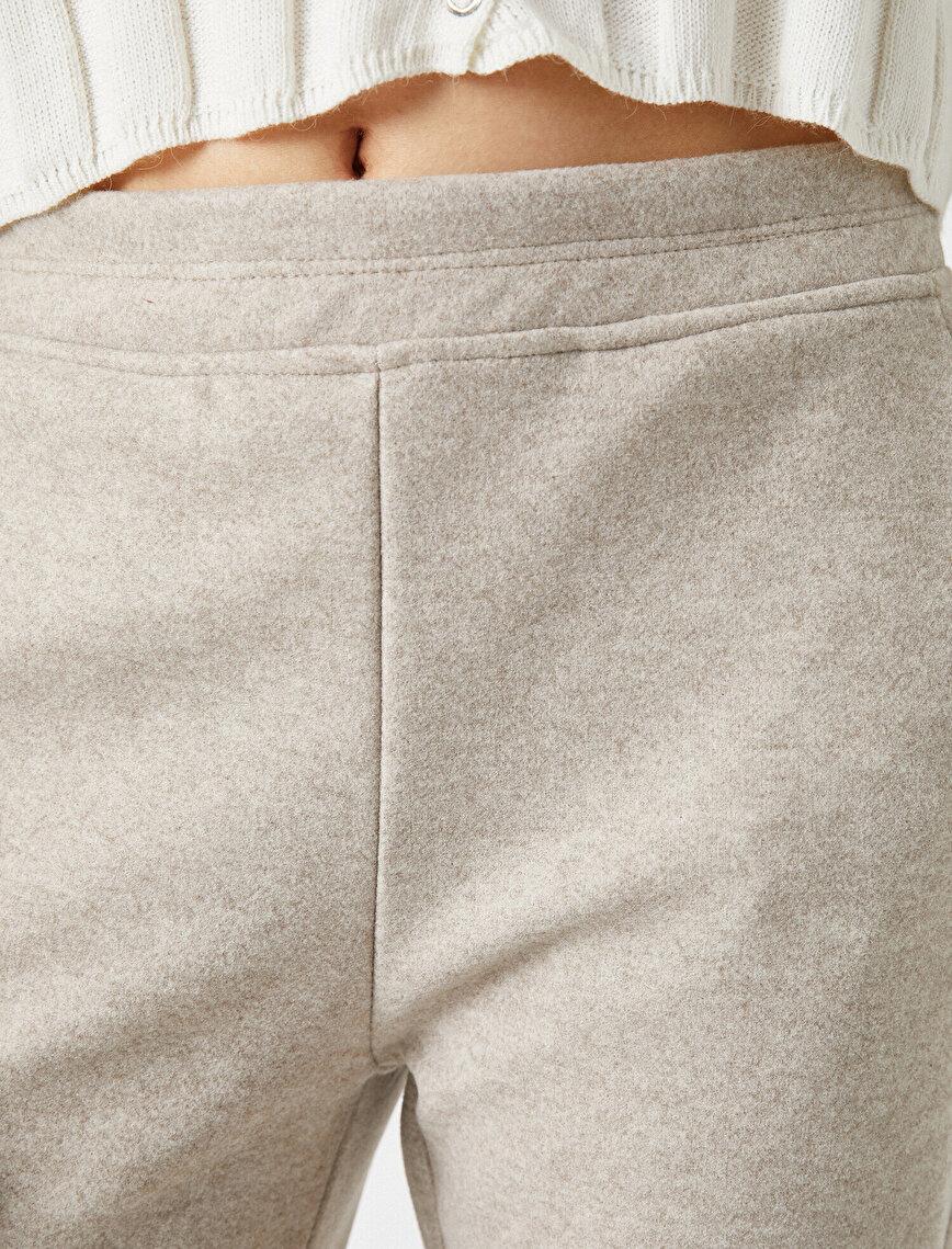 Kaşe Cepli Pantolon
