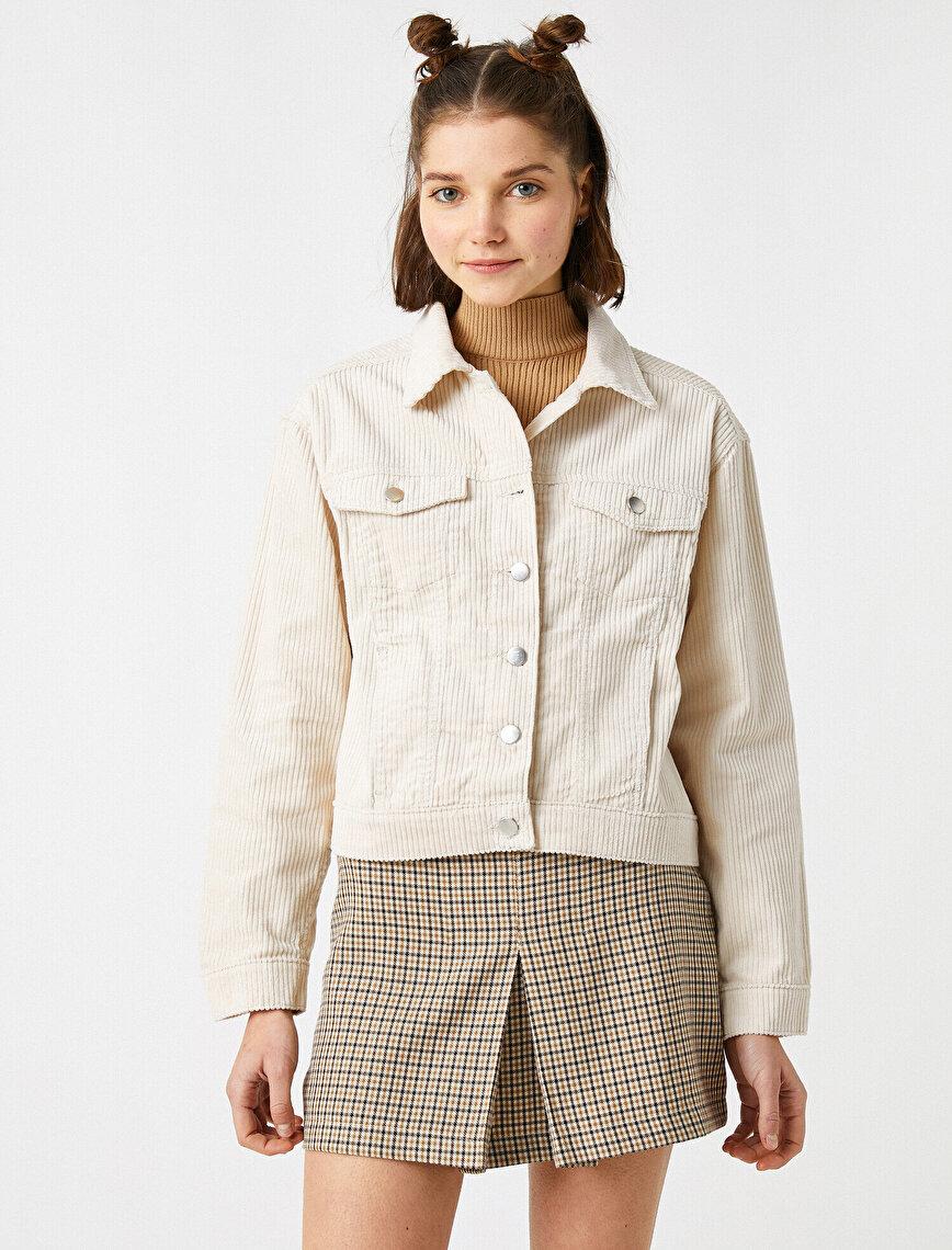 100% Cotton Corduroy Jacket