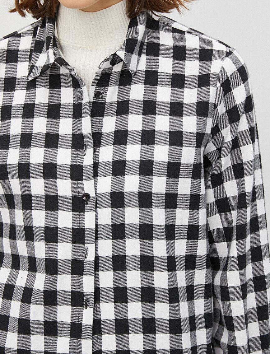 Respect Life | Yaşama Saygı - Cotton Flannel Shirt