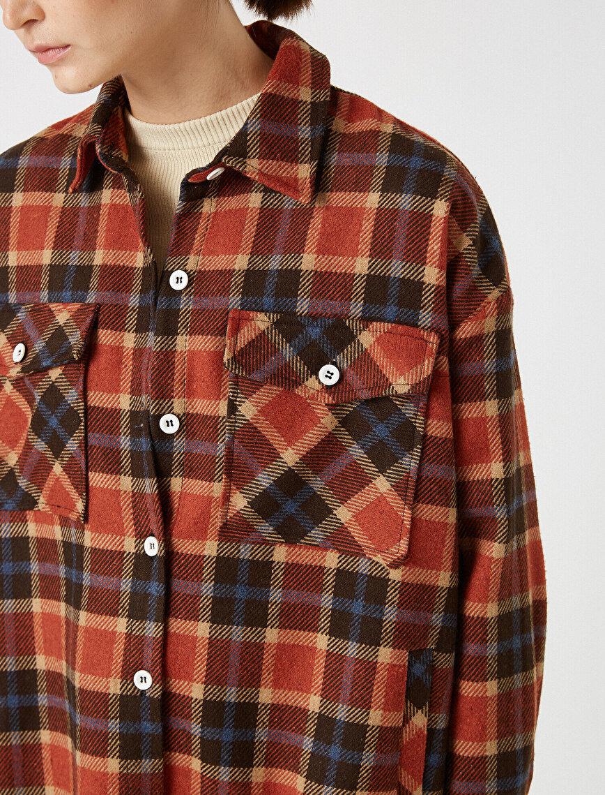 Respect Life | Yaşama Saygı - Pocket Flannel Shirt