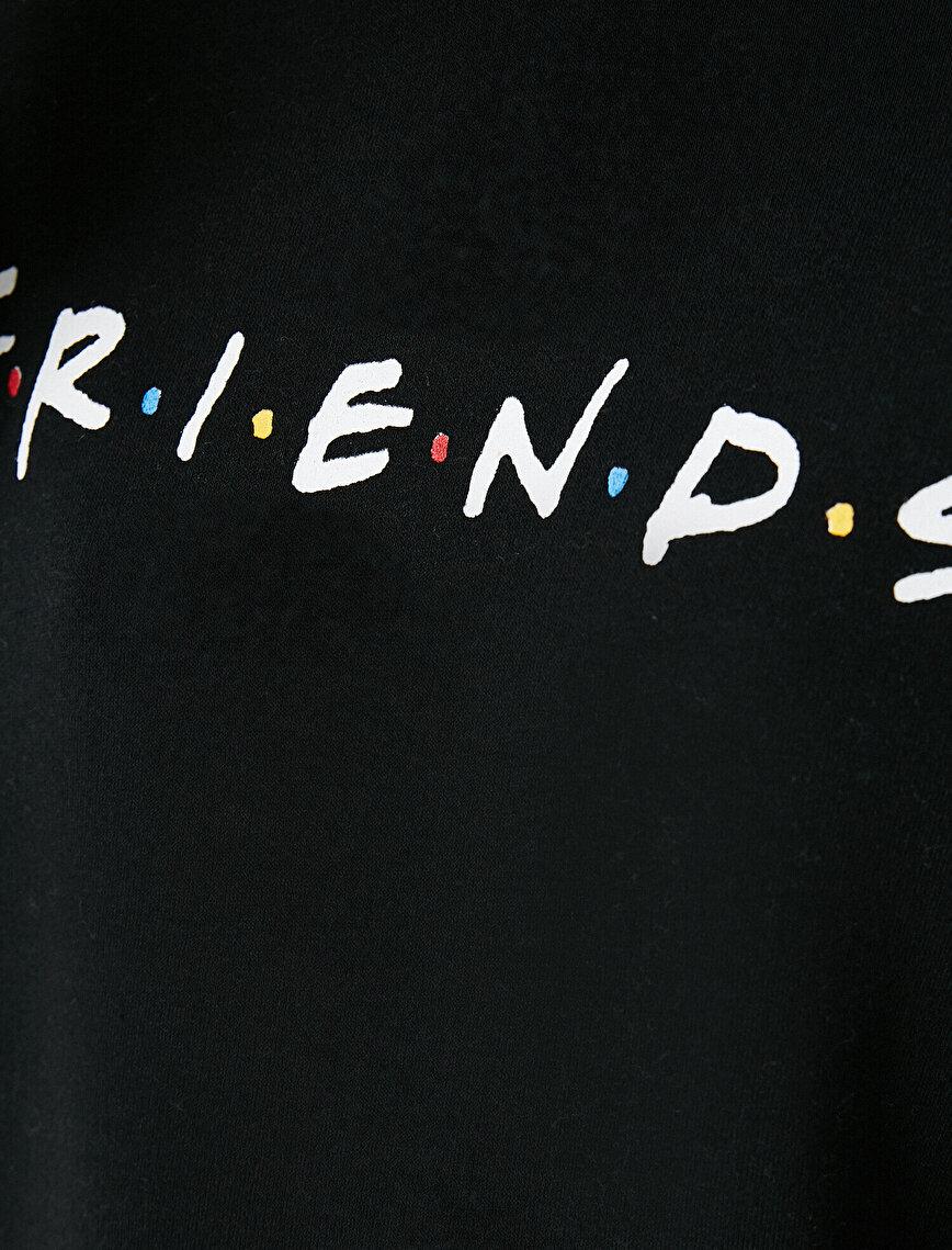 Kapüşonlu Lisanslı Friends Sweatshirt