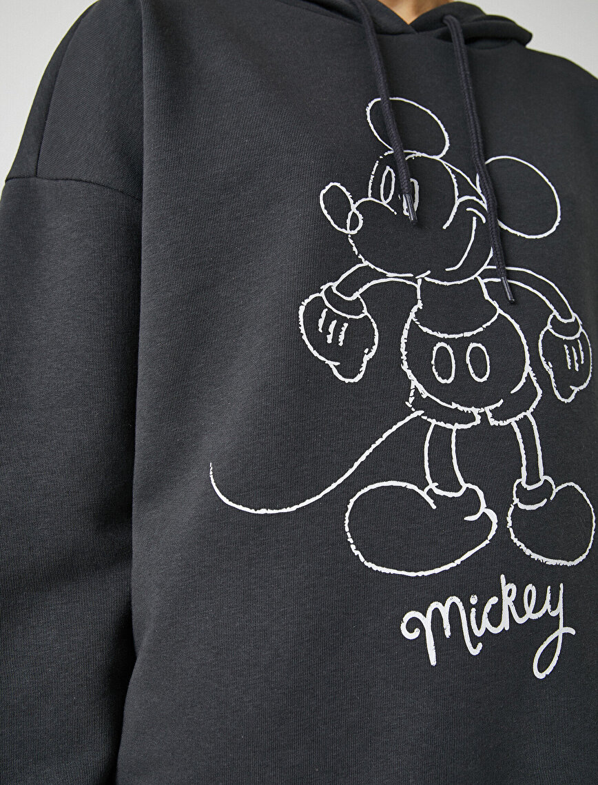 Disney Licensed Cotton Hooded Sweatshirt