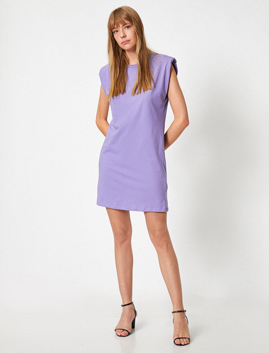 Kısa Kollu Miini Basic Elbise