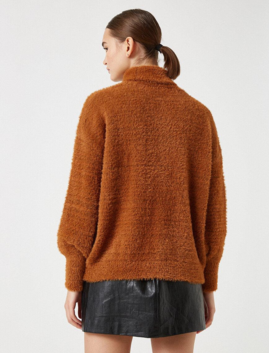 Turtle Neck Long Sleeve Sweater