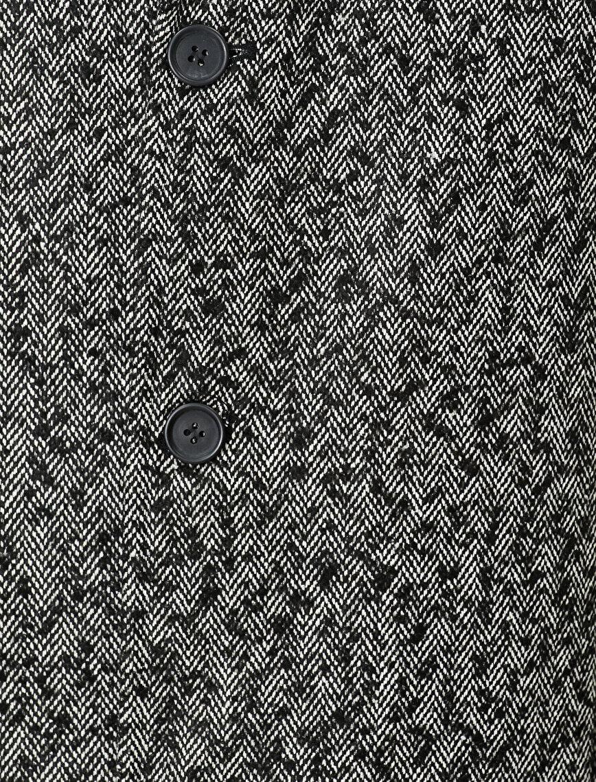 Button Detailed Coat