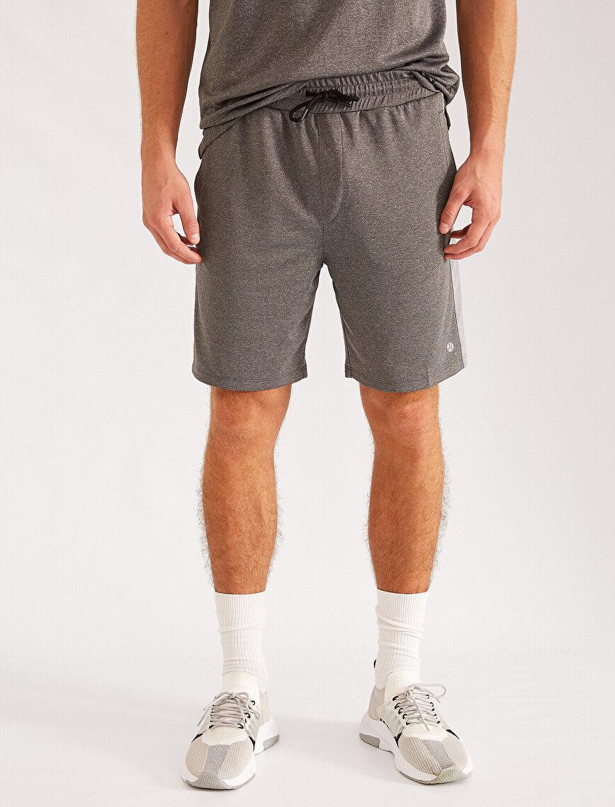 Pocket Strip Detailed Shorts