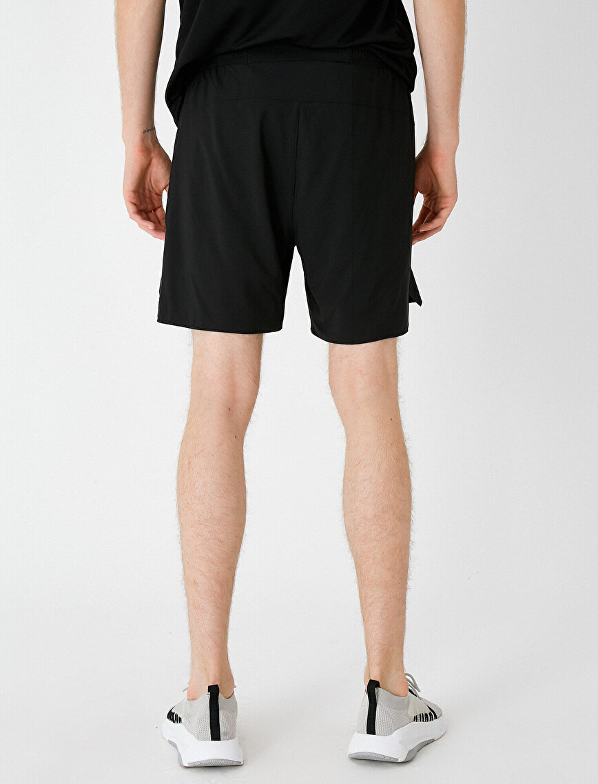 Medium Rise Basic Shorts