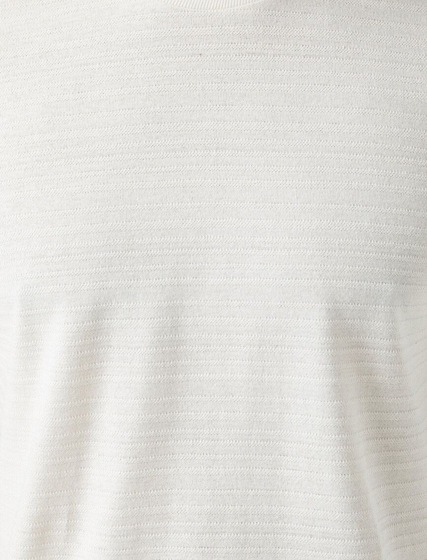 Pamuklu Kısa Kollu Basic Tişört