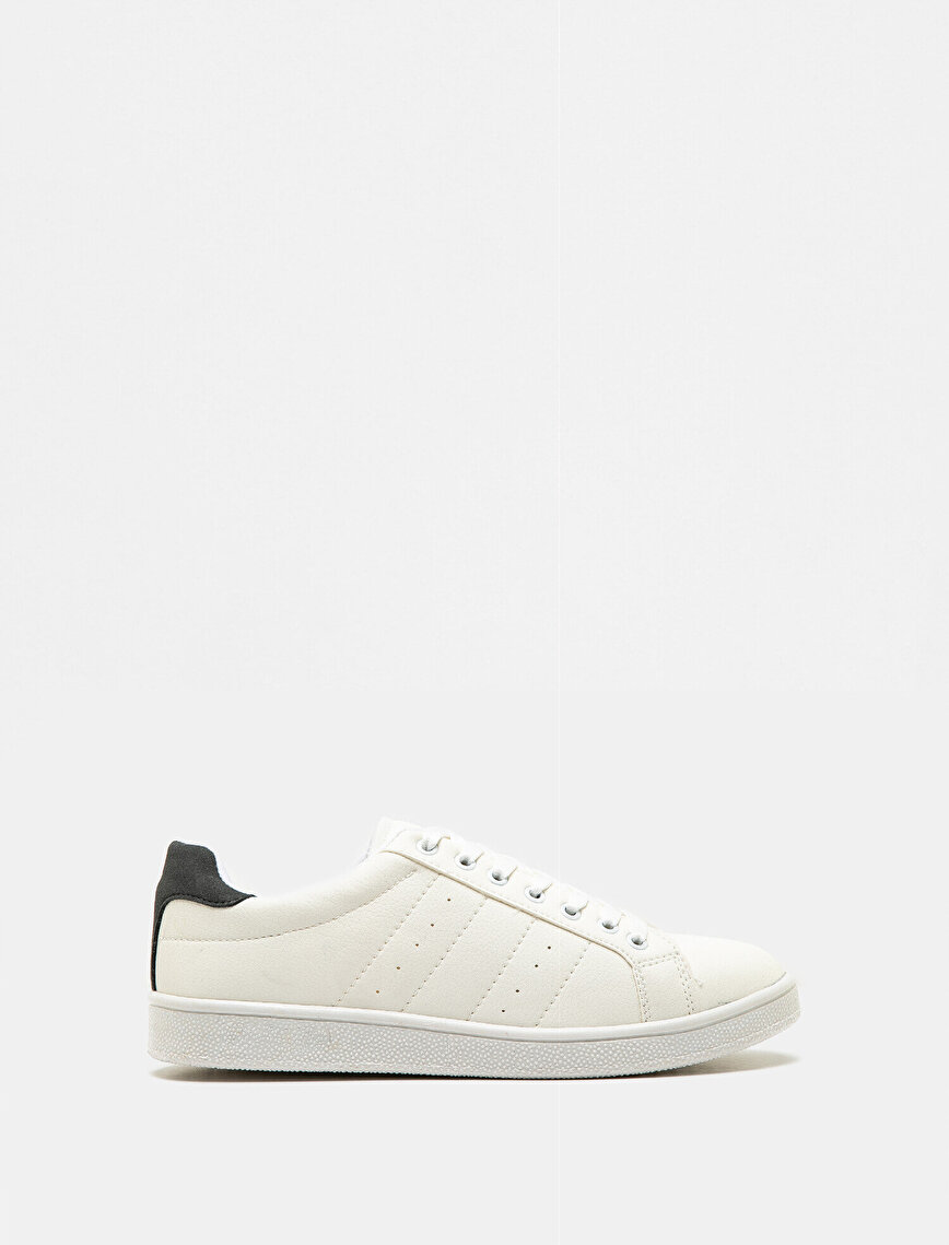 Leather Look Sneakers