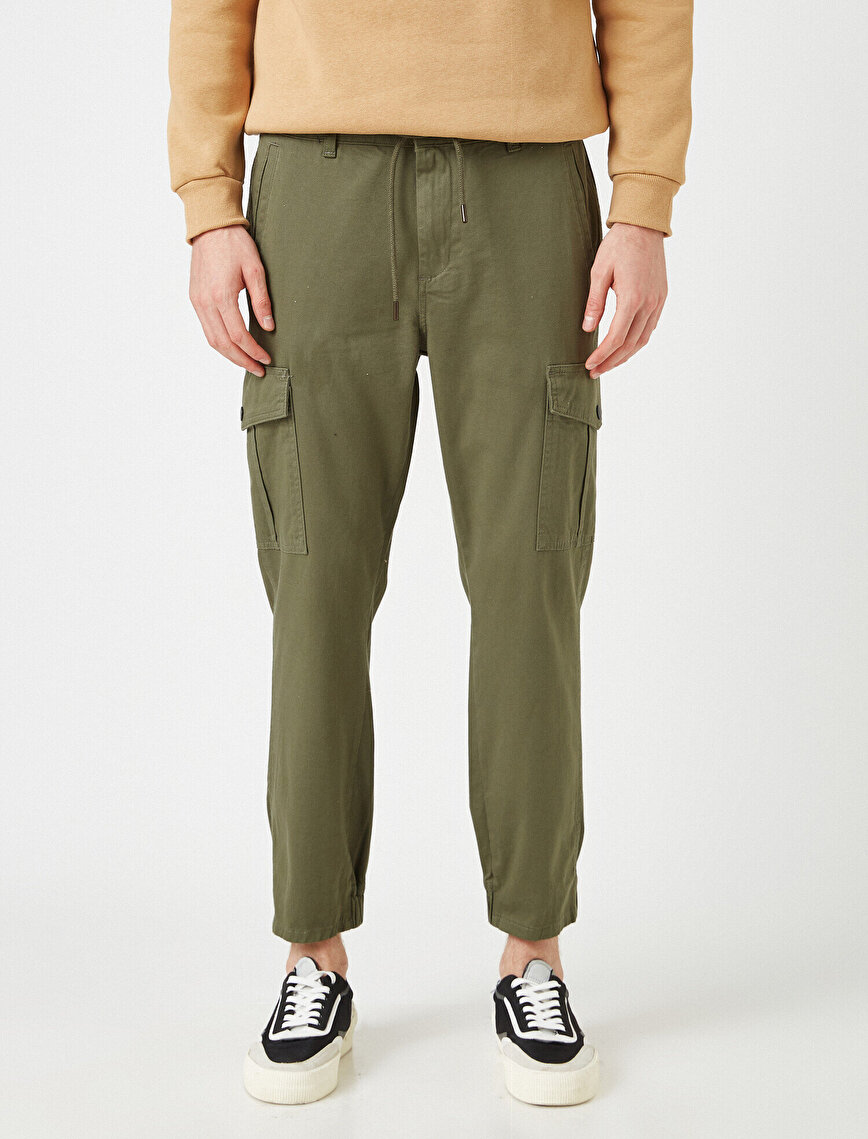 Pocket Detailed Chino Trousers