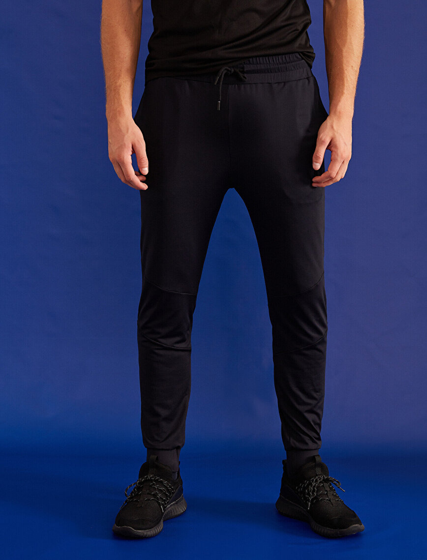 Jogger Fit Pocket Detailed Sweat Bottom