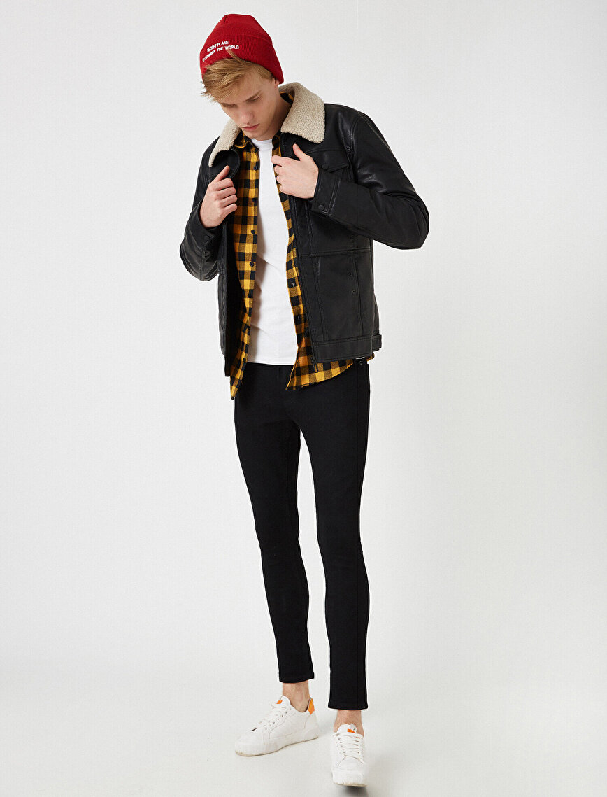 Justın Super Skinny Fit Esnek Kumaş Jean Pantolon
