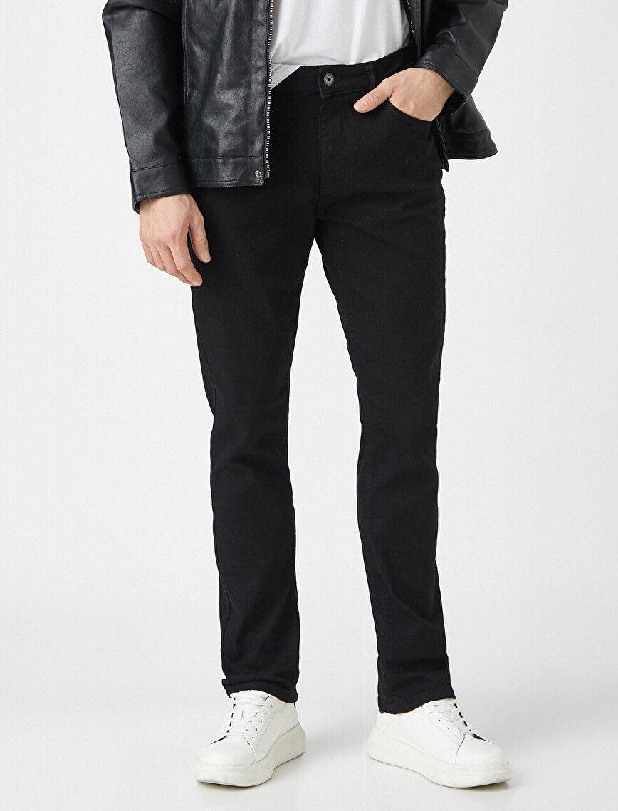 Straight Fit Kot Pantolon - Mark Jean